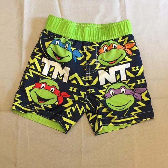 a32d202114 Nickelodeon Swim | Teenage Mutant Ninja Turtles Trunks Toddler ...